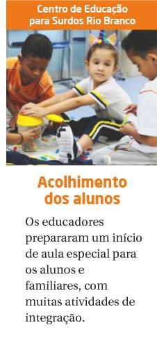 CES Rio Branco recebe familiares e alunos para o início do ano letivo