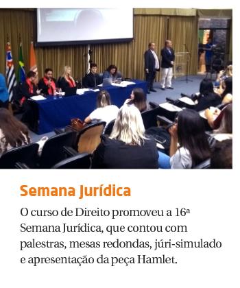 16ª Semana Jurídica