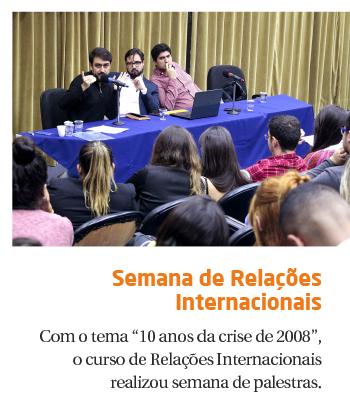 Semana de Relações Internacionais Rio Branco