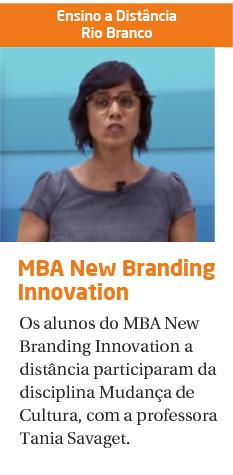 MBA New Branding Innovation: Mudança de Cultura