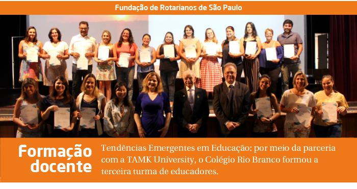 Tendências Emergentes em Educação: Rio Branco forma terceira turma de educadores