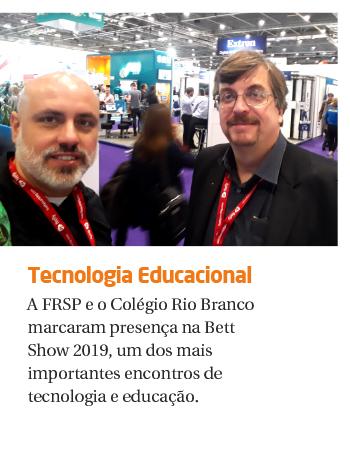 Rio Branco marca presença em feira internacional de tecnologia educacional