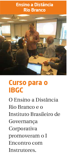 Encontro com Instrutores do IBGC