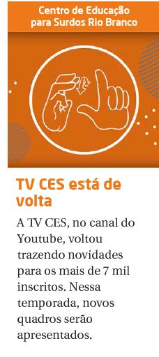 A TV CES voltou!