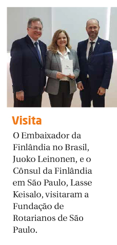 FRSP recebe visita do Embaixador e do Cônsul da Finlândia