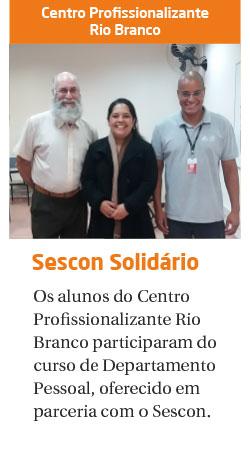 Sescon Solidário: curso de Departamento Pessoal