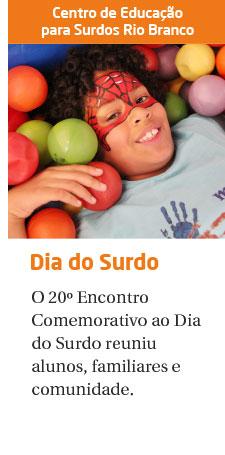 CES Rio Branco celebra a 20° Encontro Comemorativo ao Dia do Surdo